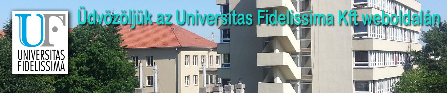 Universitas Fidelissima Kft. honlapja
