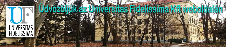 Universitas Fidelissima Kft. honlapja
